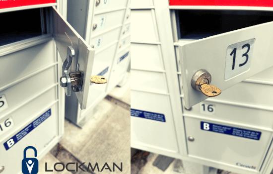 Canada post mailbox lock change