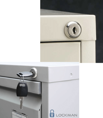 File cabinet lock replacement