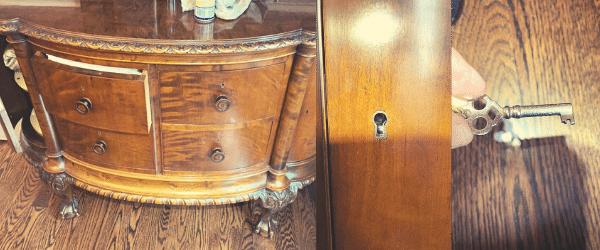 Old lock repair