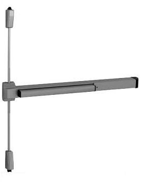 surface vertical rod exit device