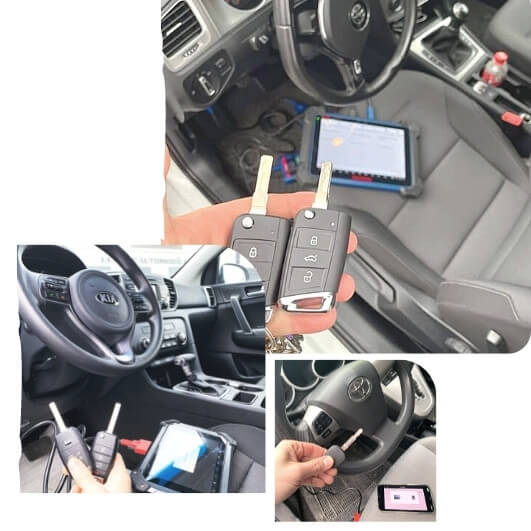 Erase Keys from Car Memory