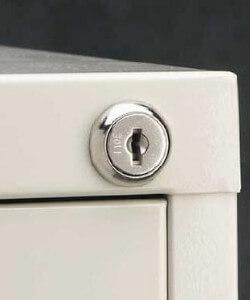 File cabinet & desk locks